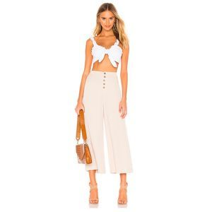 Cupcakes & Cashmere Trula Button Fly Culottes